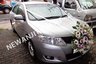 Newanjith rent a car wedding cars rent a car sri lanka for Alto car decoration